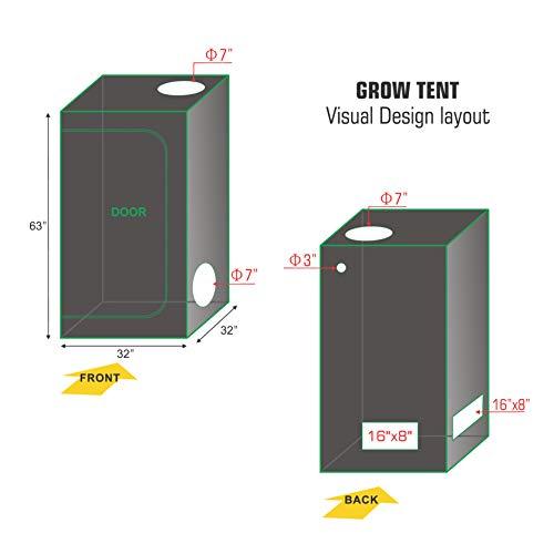 TopoGrow Grow Tent Kit