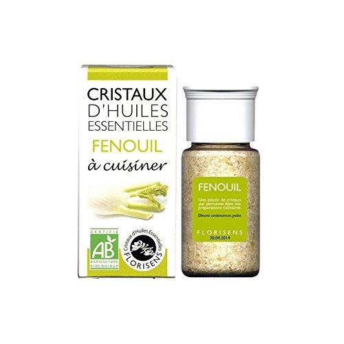 Les Encens du Monde - Cristaux d'huiles essentielles fenouil bio - 20 g cristaux d'huile essentielle - Les h