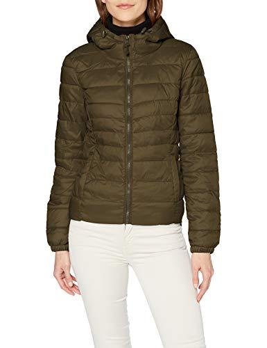 ONLY Damen Onltahoe Hood Jacket Otw Noos Jacke, Forest Night, S