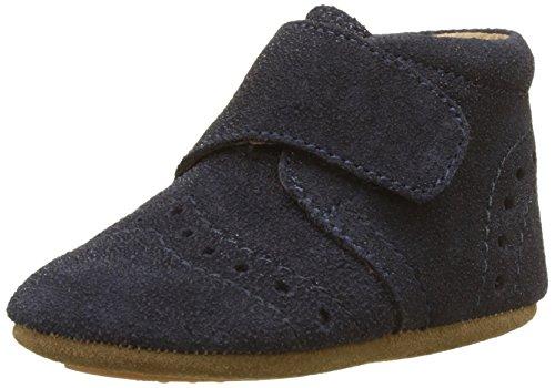 Bisgaard Baby Mädchen Petit Pantoffeln, Blau (135 Glitter-Blue), 18 EU