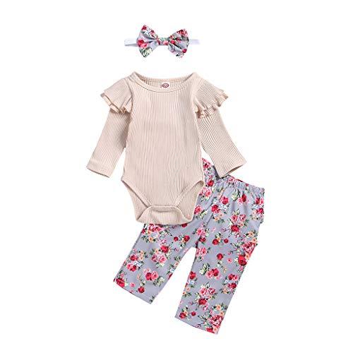 Baby Kleidung Weant - Fitness-Bekleidungssets für Mädchen in Beige, Größe 80