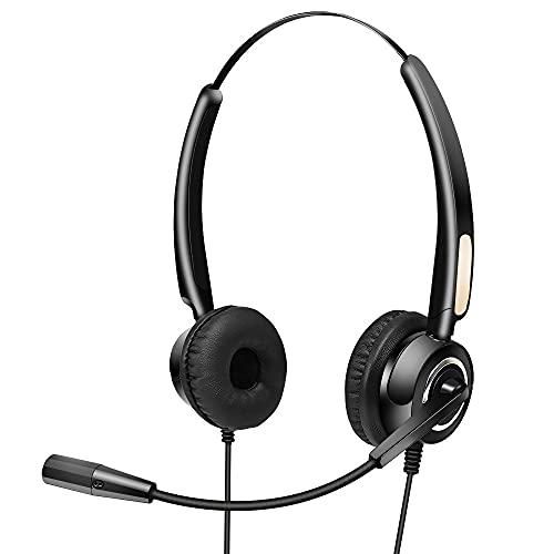 Qalabka Auriculares de comunicación con barra de acero ligera, resistente al ruido y duradera. Arquitectura flexible El puerto USB
