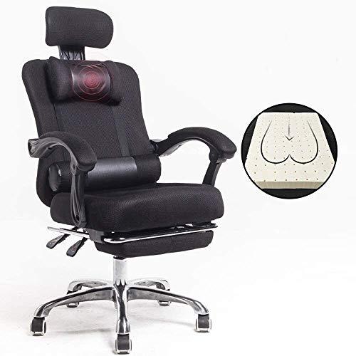 WYL Silla Silla de Ministerio del Interior Salón Esponja Volver 155 ° cómodo reclinables, con reposapiés Inicio coordinador del Estudio