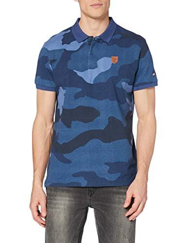 Pepe Jeans Brad Camiseta, Azul (592admiral), M para Hombre