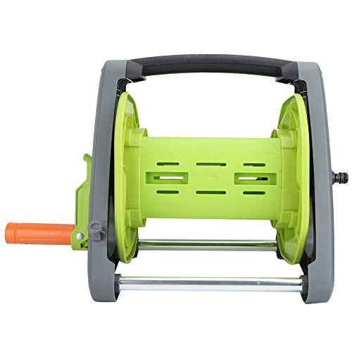 Emoshayoga Carrete de tubería de Agua Herramienta de riego Carro de Manguera con diseño de Mango Plegable para Espacios Verdes públicos Jardinería doméstica Producción agrícola