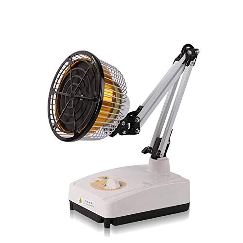 Why Choose Infrared Heat lamp, TDP Wide Heat Desktop Lamp Therapy Mineral Plate Light Electromagneti...