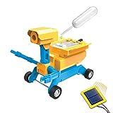 Tenergy Odev Geo STEM Toy DIY 2-in-1 Solar Powered Robot Salt Water Car Kit Educational Toys for Kids Ages 14+
