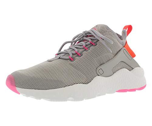 Nike Damen W Air Huarache Run Ultra Fitnessschuhe, grau (Lt Iron Ore/TTL Crmsn-pnk BLST), 37.5 EU