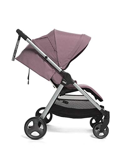 Mamas & Papas Armadillo Compact Pushchair with Lightweight Frame, One Hand Fold, Adjustable Seat, Lie Flat Position & Large UPF 50+ Protective Hood – Grape Mamas & Papas COMPACT FOLD - A compact fold that fits in the boot of a Mini, collapsing with one hand ALL IN ONE BUGGY - With no compromise on room our biggest lie-flat seat offers loads of stretching room LARGE UPF 50+ HOOD - A large UPF 50+ hood protects against rays and rainy days with a magnetic window to check on baby 4