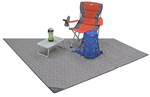 Vango Orava 600xl Carpet - Grey - One Size - Comfortable soft tent carpet