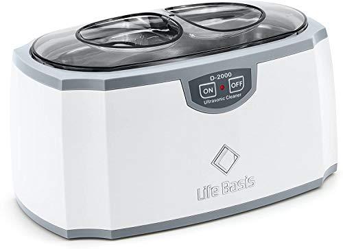 LifeBasis Ultraschallreinigungsgerät Ultraschallreiniger Ultraschallgerät für Reinigung von Brillen Schmuck Uhren Zahnersatz 420ml 45000Hz- Gebraucht