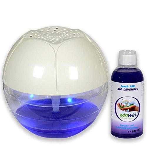 winwin clean Systemische Reinigung - AIR Blow I UV-ENTKEIMUNG I MIT LUFTREINIGER-Konzentrat Fresh AIR Lavendel 500ml