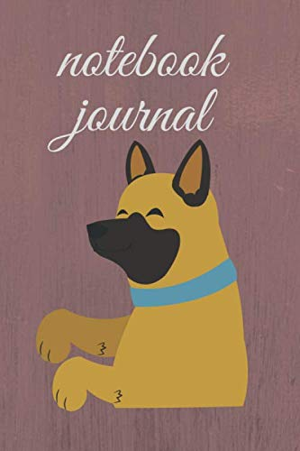 notebook journal: notebook journal for home school .dog notebook journal 6 x 9/110 pages