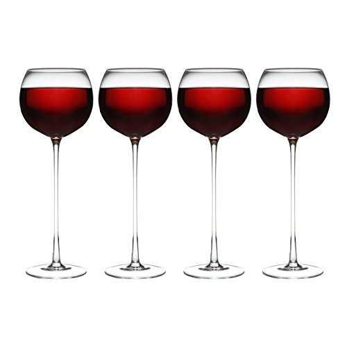 Set of 4 Long Stemmed Wine Glass's