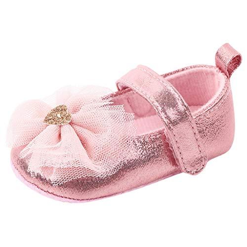 Erste Schritte Schuhe Kind 12, Babyschuhe Kind Mädchen Bequeme Fliege MoFirst Walker Kinder Kinder 6-12 Monate Günstige Stiefel Turnschuhe für Kindertag