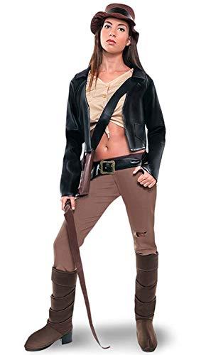 Disfraz de Arqueloga aventurera para mujer