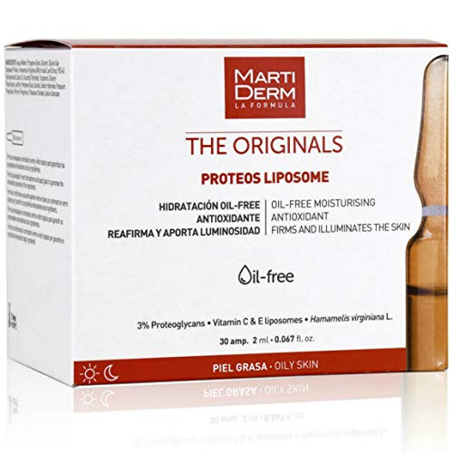 Martiderm Liposomas 30 Ampollas | Ampollas Martiderm de Vitamina C facial para...