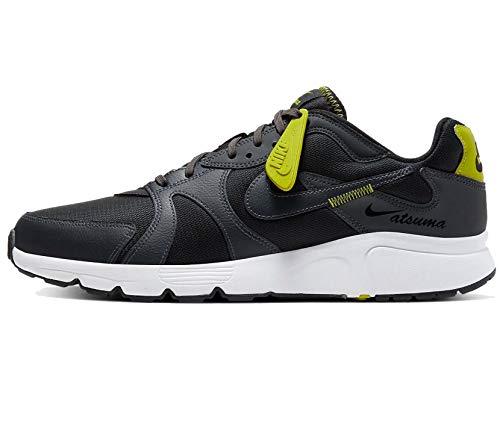 Nike ATSUMA, Zapatillas para Correr de Carretera para Hombre, Black/Black/White/Anthracite, 39 EU
