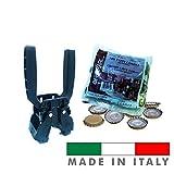 Palucart TAPPATRICE CAPSULATRICE Manuale 2 Leve Kelly per Tappi A Corona 26 MM Bottiglie V...