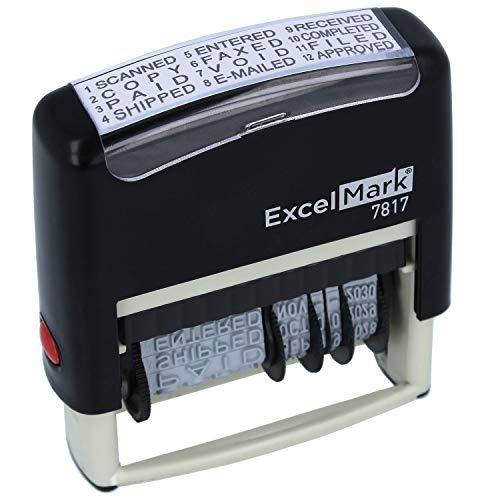 ExcelMark 12 Phrase Self-Inking ...