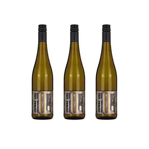 Kolonne Null - Alkoholfreier Wein (3 x 0,75 L) – Weißwein Riesling Jahrgang 2019