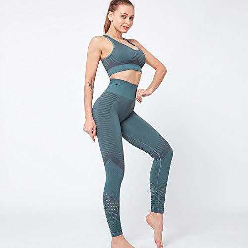 Leggings Sexis Sin Costuras para Mujer, Pantalones Deportivos, Ropa, Leggins, Leggings para Gimnasio, Ropa De Talla Grande para Mujer, Push Up, Anticelulítico, L Turquesa