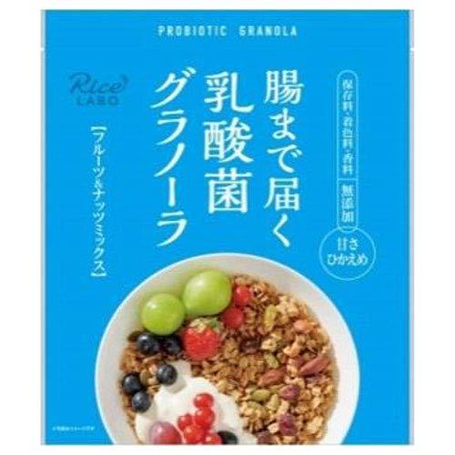 幸福米穀 腸まで届く乳酸菌グラノーラ 250g×15袋入