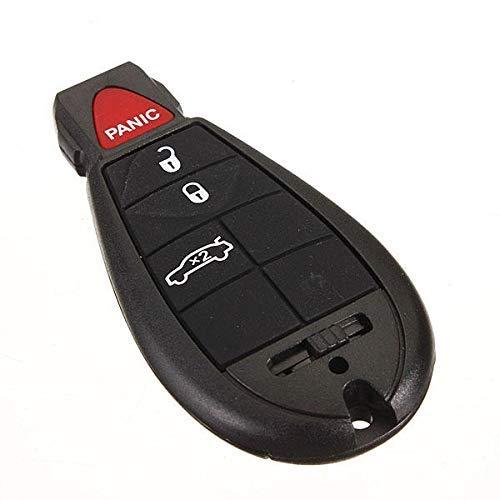 Zimaes Perfectamente Tecla de 4 Botones Fuera de la Entrada sin Llave de la Cuchilla áspera para Dodge Chrysler Mecánico
