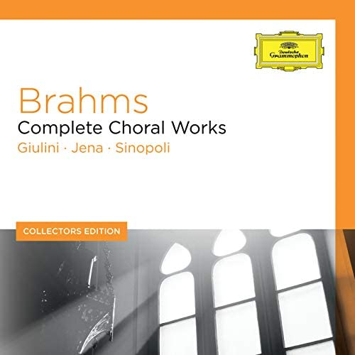 Carlo Maria Giulini, Günter Jena, Giuseppe Sinopoli & Johannes Brahms