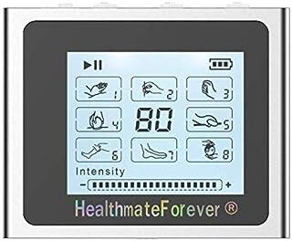HealthmateForever 6 modos portátil dolor alivio massager electrónico del pulso con el contraluz, dispositivo de electroterapia Digital profesional