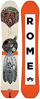 Rome Snowboards National Bjorn Snowboard, Orange, 158
