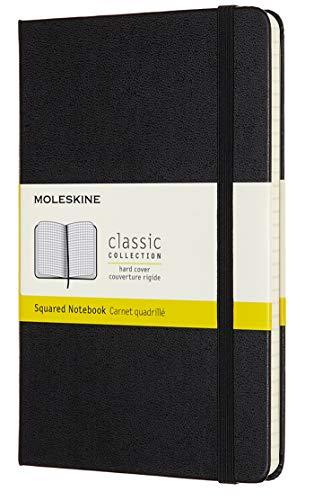 "Moleskine Classic Notebook, Hard Cover, Medium (4.5"" x 7"