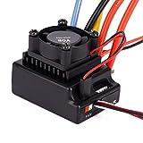 RC Brushless ESC, Escobillas ESC 80A Sensored y Sensorless Ajustable para RC Car Truck Juguetes RC Accesorio