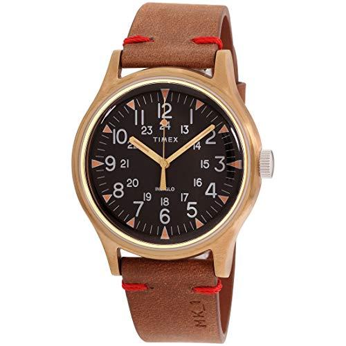 Timex MK1 Steel Quartz Movement Black Dial Men's Watch TW2R96700
