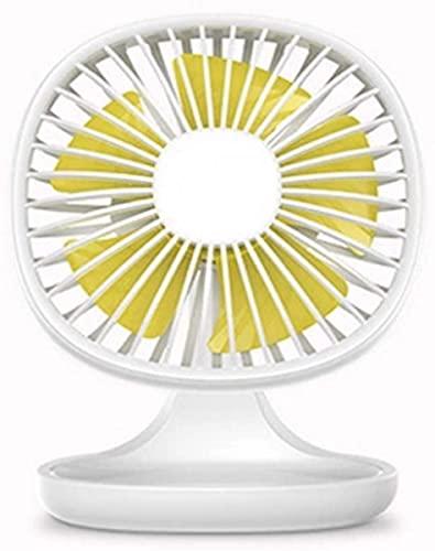 HEZHANG Ventilador Usb Portátil de 3 Velocidades para Oficina, Escritorio, Pequeño Ventilador Eléctrico, Enfriador de Verano, Ventilador de Refrigeración por Aire, Alenamiento de Artículos para el Ho