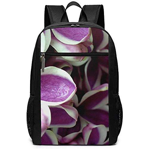 WlyFK Backpack Lilacs Syringa Flower Unisex Custom Shoulder Bags,Adult...