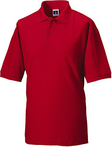 Russell Europe: Polo Mischgewebe R-539M-0, Größe:3XL;Farbe:Classic Red