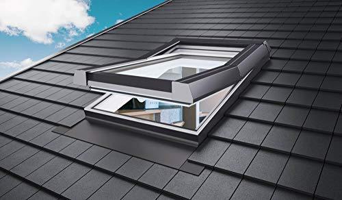 AFG Schweiz Skylight Dachfenster PVC 55 x 78 mit Eindeckrahmen