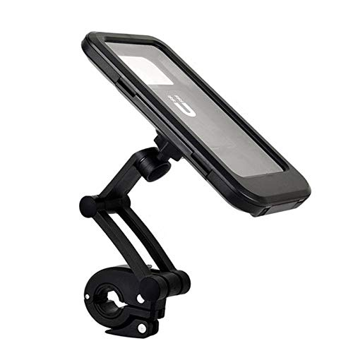 ZS ZHISHANG Rain-Proof Phone Holder Bike Phone Mount Bag Waterproof Phone Case for Bicycle Handlebars Cell Phone Holder for Motorcycle Universal