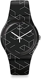 Swatch Cnosso Dial Silicone Strap Men's Watch SUOB161