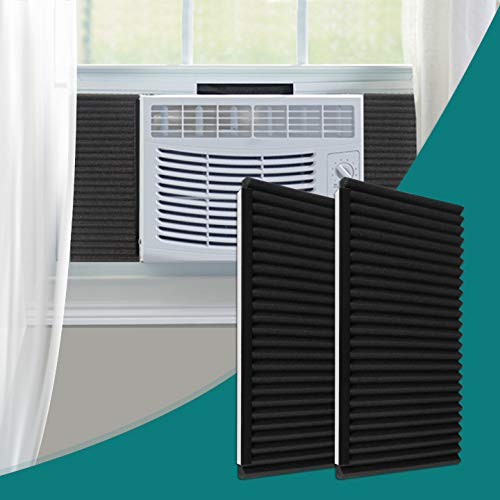 Daisypower Window Air Conditioner Foam Insulating Panels Kits,AC Units Insulation Side Panels,17 Inch x 9 Inch x 7/8 Inch,2Pack
