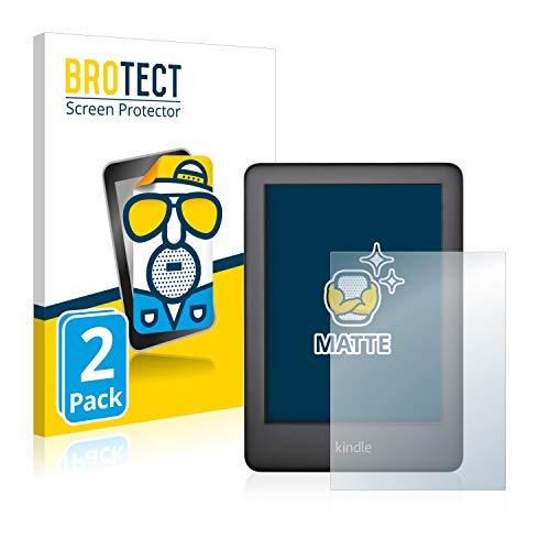 2X BROTECT Matt Displayschutz Schutzfolie für Amazon Kindle 2019 (10. Generation) (matt - entspiegelt, Kratzfest, schmutzabweisend)