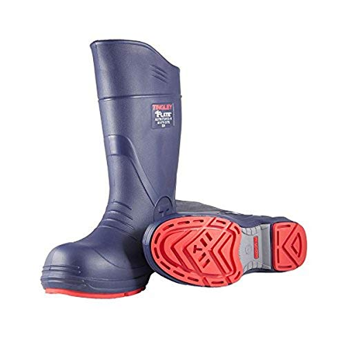TINGLEY 26256.12 26256 SZ12 Footwear: Boots-Rubber Safety Toe, 12, Blue