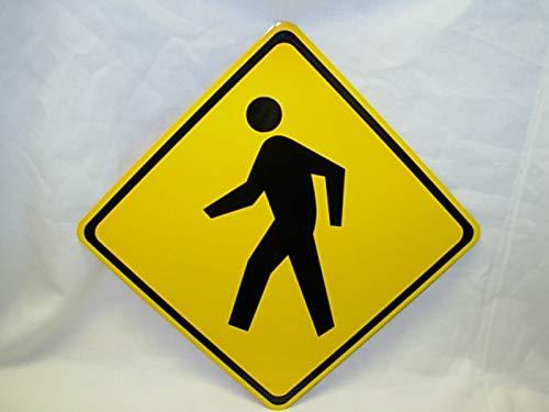 Pedestrian Walking Xing Mini Metal Street Road Bargain NEW 6