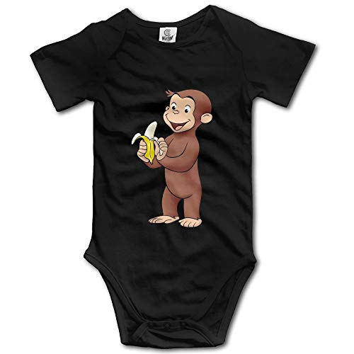 ngmaoyouxis Curious George Banana Baby Onesies