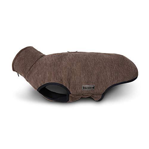 WOLTERS Fleecejacke Casual Soft & Dry versch. Farben und Größen, Größe:28 cm, Farbe:braun meliert