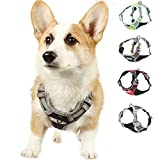 TUFF HOUND Dog Harness No Pull Walking Pet Harness Adjustable Pet Vest 3M Reflectivefor Small Medium Large Dogs