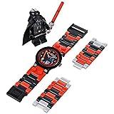 おもちゃ Lego レゴ Kids' 8020301 Star Wars スターウォーズ Darth Vader Plastic Watch with Link Bracelet and Character Figurine [並行輸入品]