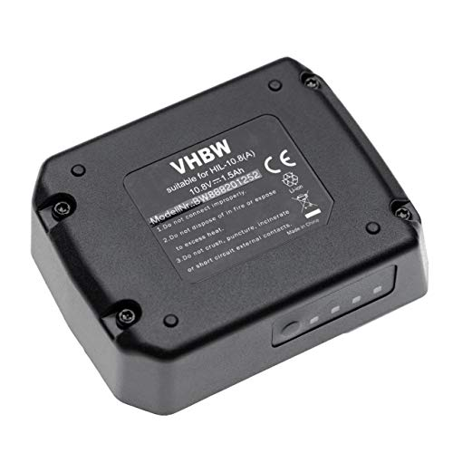 vhbw Batería compatible con Hilti SF 2-A12, SF 2H-A12, SFD 2-A12, SFE 2-A12, SID 2-A12 herramientas eléctricas (1500mAh Li-Ion 10,8V)