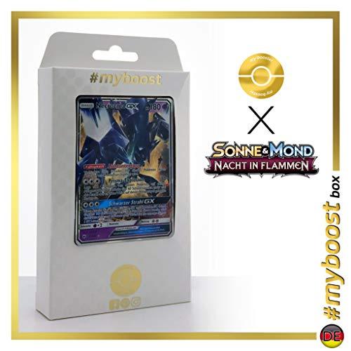 Necrozma-GX 63/147 - #myboost X Sonne & Mond 3 Nacht in Flammen - Coffret de 10 Cartes Pokémon Allemandes